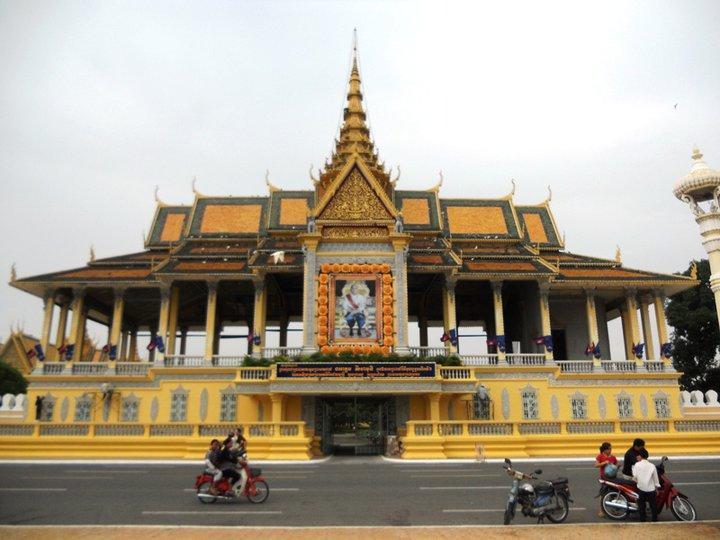 Hoàng Cung của đất nước Campuchia