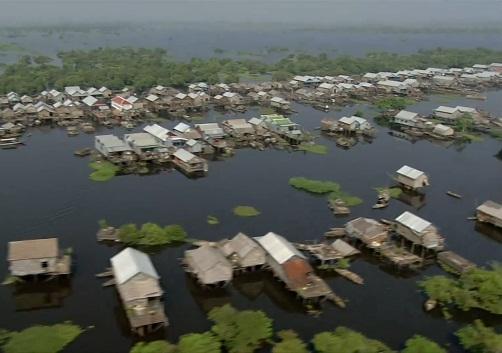 Khám phá biển Hồ Tonle Sap của đất nước Campuchia