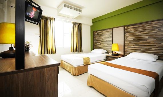 Du lịch Thái Lan: Nét đẹp riêng đặc trưng của khách sạn Rambuttri Village Plaza