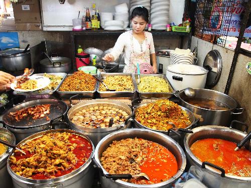 5 khu phố ẩm thực không thể bỏ qua khi đến du lịch tại Thái Lan