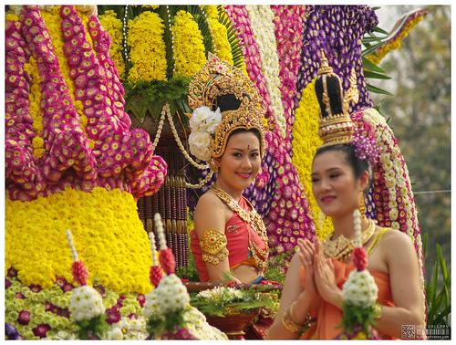 Thái Lan – Chiang Mai lễ hội hoa rực rỡ muôn sắc màu