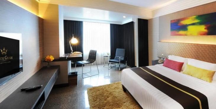 Vị trí thuận tiện của khách sạn Majestic Grande Hotel, Thái Lan