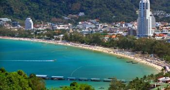 Ghé thăm thiên đường du lịch ở bãi biển Patong tại Phuket Thái Lan