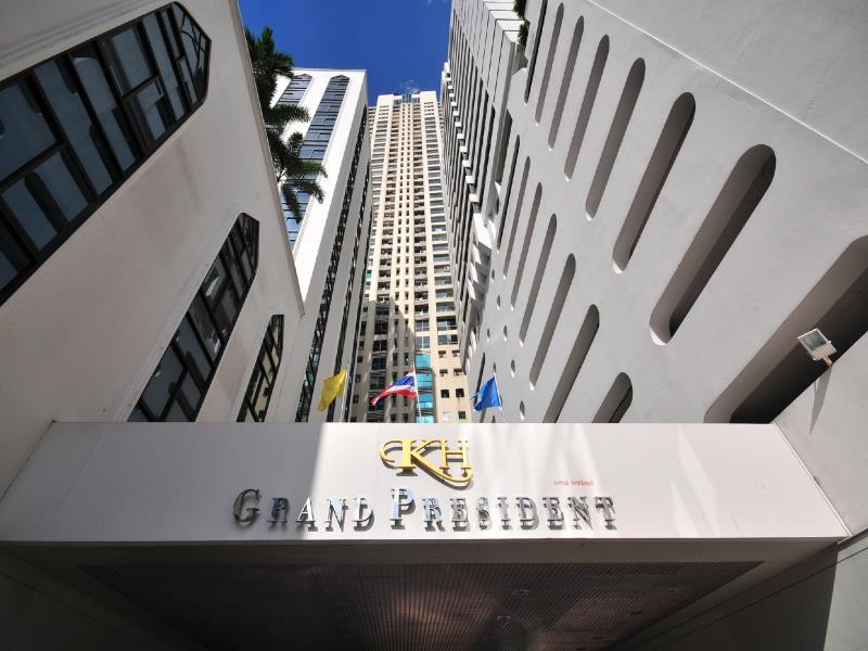 Không gian nghỉ dưỡng sang trọng tại khách sạn Grand President Bangkok, Thái Lan