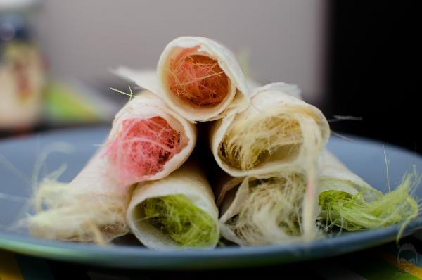 Món ăn Roti Sai Mai muôn màu sắc ở Thái Lan