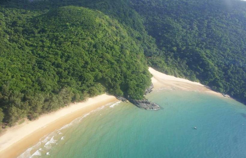 Phong cảnh thiên nhiên nơi vùng biển Côn Đảo