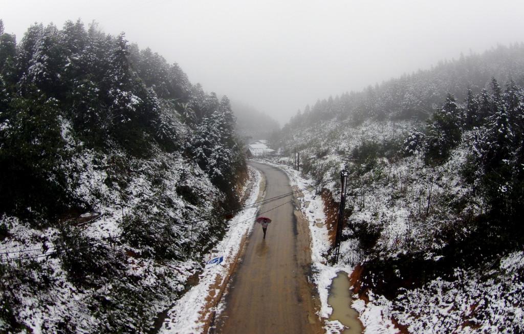 Những địa điểm ngắm tuyết rơi đẹp nhất Việt Nam