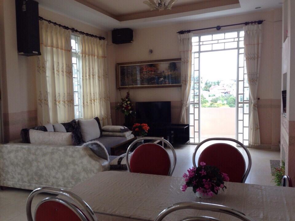 Biệt thự Anh Đào – Biệt thự Đà Lạt tiện nghi có 4 phòng ngủ