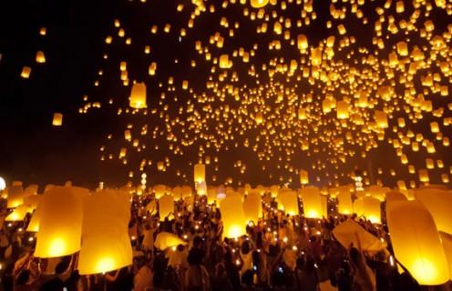 Lễ hội đèn hoa đăng ở Chiang Mai