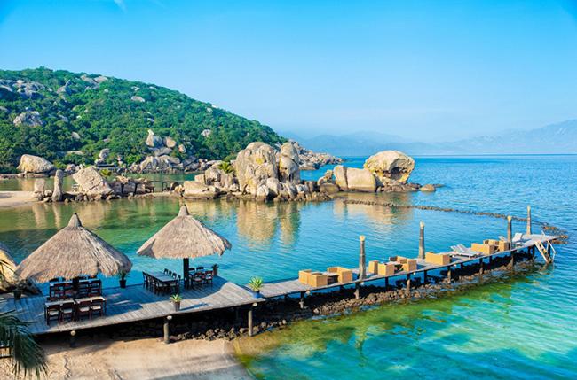4 bãi biển đẹp nhất Vịnh Cam Ranh