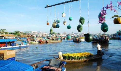 Miền tây chợ nổi – hồi ức đáng nhớ