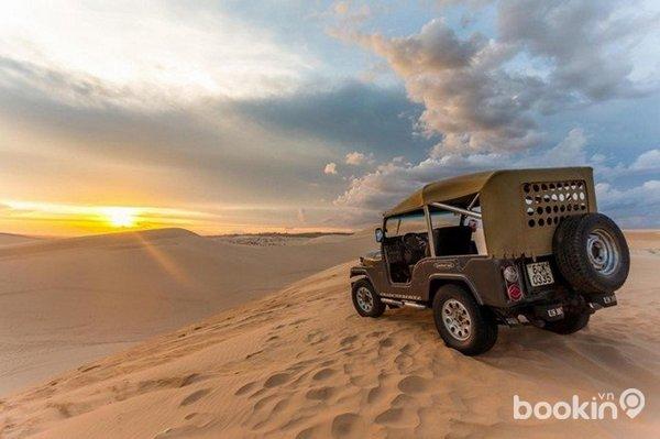 """Những đồi cát đẹp khiến khách du lịch """"đê mê"""""""