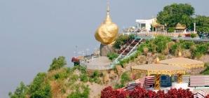 Chiêm ngưỡng ngôi chùa đá vàng nổi tiếng Kyaikhtiyo tại Myanmar