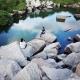 Vách đá hồ Latina – Một điểm sống ảo mới của giới trẻ khi tới An Giang