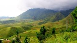 Đến cung đèo Khau Cọ ngắm bức tranh thiên nhiên xanh tuyệt đẹp