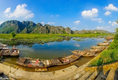 Lạc bước trong những khu đầm nước đẹp ở Việt Nam