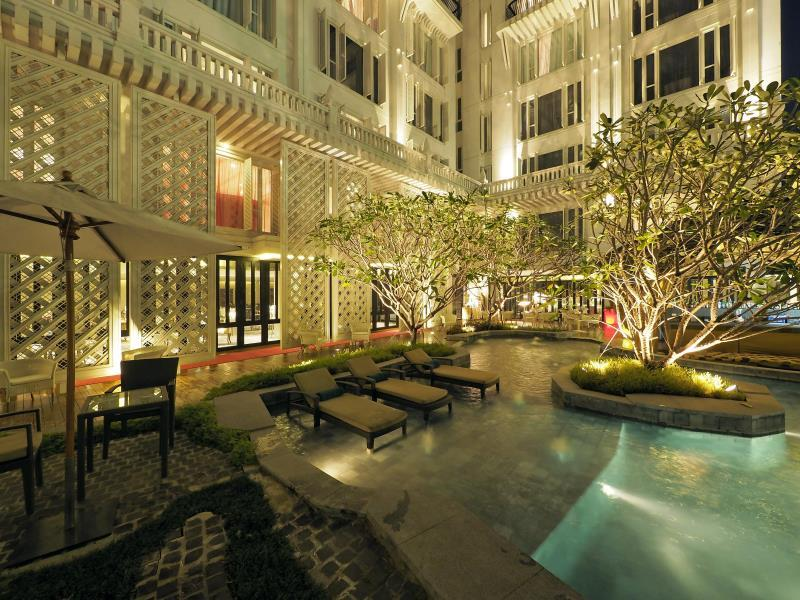 Khung cảnh tuyệt đẹp của khách sạn Hua Chang Heritage Hotel, Thái Lan