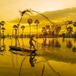 Cảnh sắc Tịnh Biên mùa nước nổi
