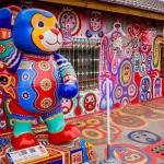 Say đắm trước ngôi làng cầu vồng nhiều màu sắc tại Đài Loan