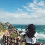 Những lối đi đẹp cực chất ở Quy Nhơn hấp dẫn du khách