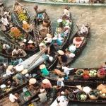 Điểm qua những khu chợ nổi độc đáo ở Đông Nam Á