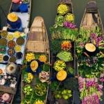 5 khu chợ nổi của miền sông nước của Việt Nam